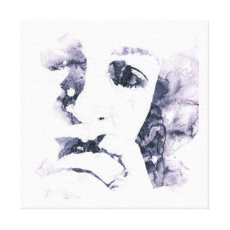 woman in tears canvas print
