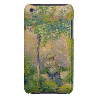 Woman in the Garden (oil on canvas) Barely There iPod Cover