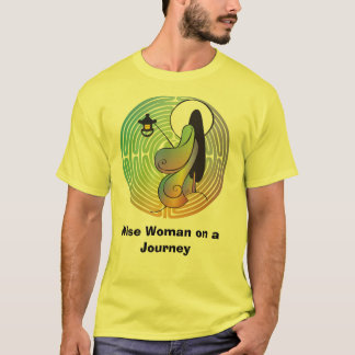 Woman in the Labyrinth (II) T-Shirt