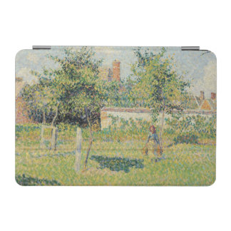 Woman in the Meadow at Eragny, Spring, 1887 iPad Mini Cover