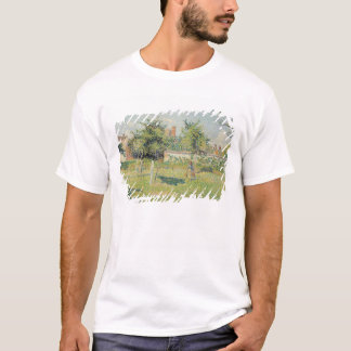 Woman in the Meadow at Eragny, Spring, 1887 T-Shirt