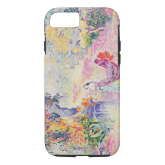 Woman in the Park, 1909 (oil on canvas) iPhone 8/7 Case