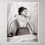 Woman Ironing, 1869 - Edgar Degas Posters