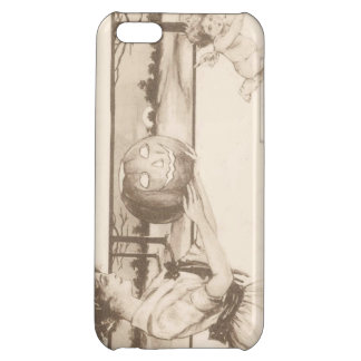 Woman Jack O' Lantern Scaring Cupid iPhone 5C Covers