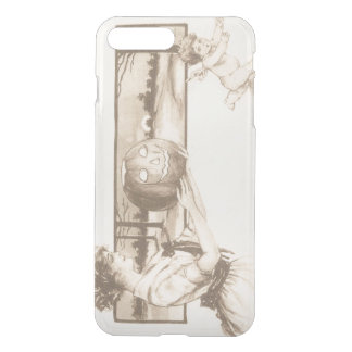 Woman Jack O' Lantern Scaring Cupid iPhone 7 Plus Case