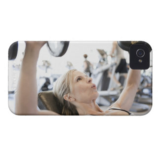 Woman Lifting Weights Case-Mate iPhone 4 Case