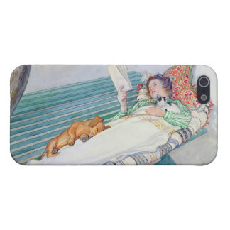 Woman Lying on a Bench, 1913 (w/c on paper) iPhone 5/5S Cover