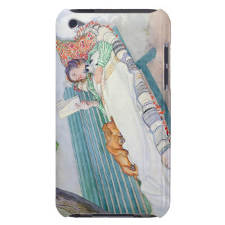 Woman Lying on a Bench, 1913 (w/c on paper) iPod Touch Case-Mate Case