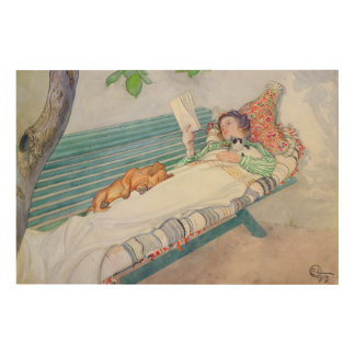 Woman Lying on a Bench, 1913 Wood Canvas