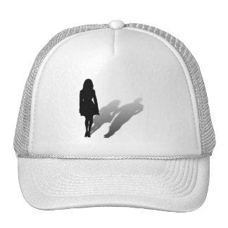 Woman Missing Man Mesh Hat