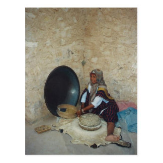 Woman of Desert Tribe in Tunisia Postcard