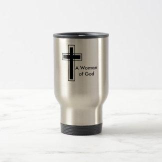 Woman of God Stainless Travel Mug