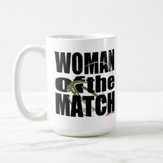 Woman of the Match Basic White Mug