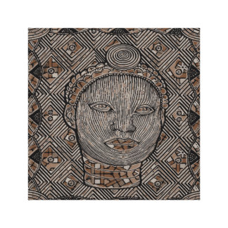 "Woman of the tribe 12"" x 12"", 1.5"", Single Canvas Print"