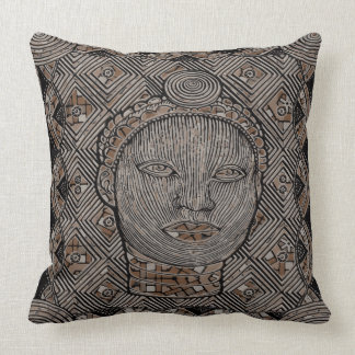 """Woman of the tribe Throw Pillow 20"""" x 20"""""""
