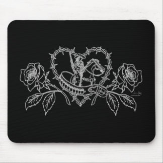 Woman of the West Mousepad