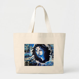 Woman of the World Large Tote Bag