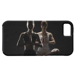 Woman of Yogi who concentrates spirit iPhone 5 Cases