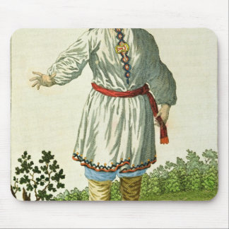 Woman peasant's summer costume, Cheremes Tribe Mouse Pad