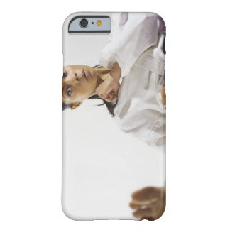 Woman performing martial arts 2 barely there iPhone 6 case