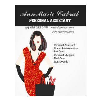 Woman Personal Assistant  Fashionista 21.5 Cm X 28 Cm Flyer