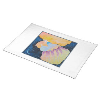 Woman. Placemat