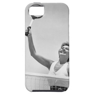 Woman Playing Tennis 2 iPhone 5 Case
