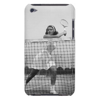 Woman Playing Tennis Barely There iPod Cover