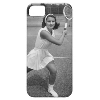 Woman playing tennis case for the iPhone 5