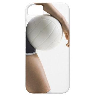 woman playing volleyball iPhone 5 cover