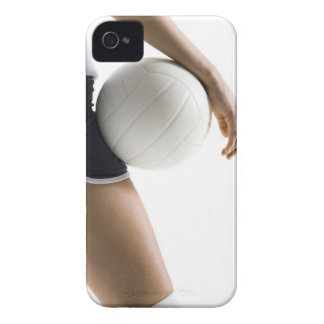 woman playing volleyball iPhone 4 Case-Mate cases