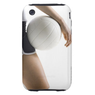 woman playing volleyball iPhone 3 tough case