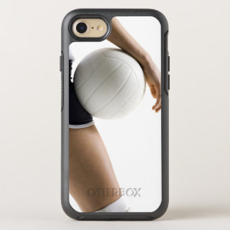 woman playing volleyball OtterBox symmetry iPhone 7 case