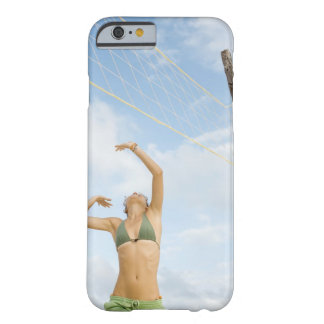 Woman playing volleyball outdoors barely there iPhone 6 case