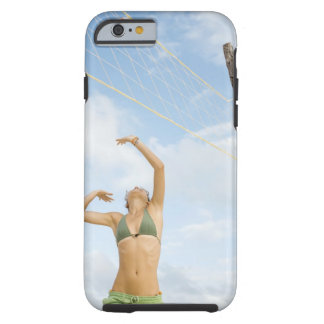 Woman playing volleyball outdoors tough iPhone 6 case