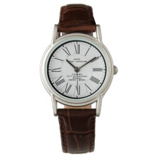 Woman Police Constable Commemorative Watch