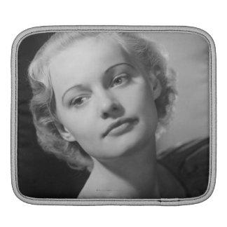 Woman Posing 2 iPad Sleeve