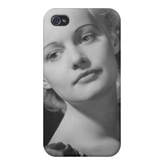 Woman Posing 2 iPhone 4 Cover