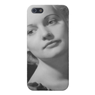 Woman Posing 2 iPhone 5/5S Covers