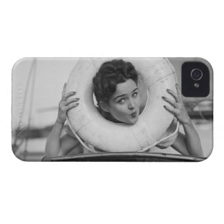 Woman Posing 3 iPhone 4 Case