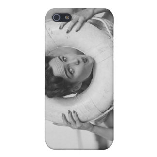 Woman Posing 3 iPhone 5/5S Cover