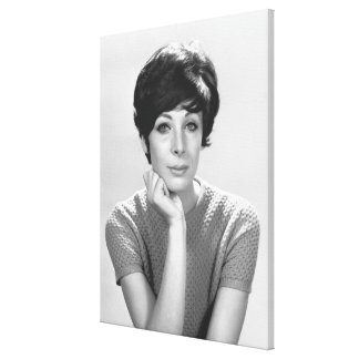 Woman Posing Canvas Print
