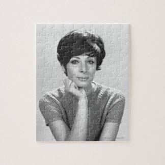 Woman Posing Jigsaw Puzzle