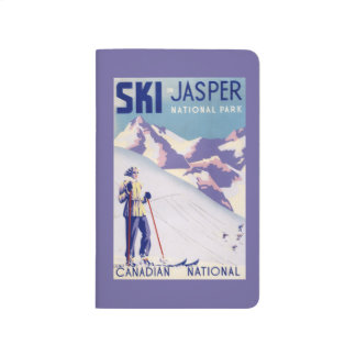 Woman Posing Open Slopes Poster Journals