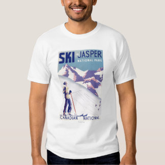 Woman Posing Open Slopes Poster T-shirts