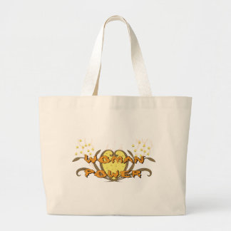 Woman Power Large Tote Bag