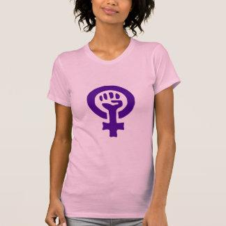 Woman power women's t-shirt