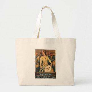 Woman-Power World War 2  Tote Bag