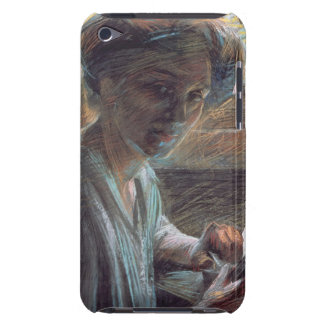 Woman Reading, 1909 (oil on canvas) iPod Touch Covers