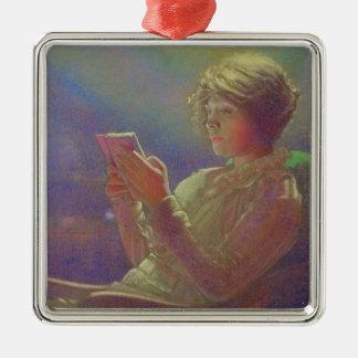 Woman Reading, 1921 Christmas Ornament